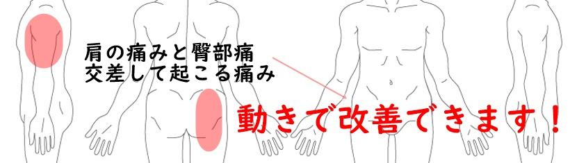 肩こりと臀部痛